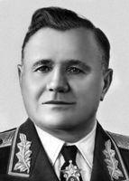 Командующий фронтом А. И. Еременко (апрель 1944 - февраль 1945)