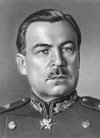 Командующий фронтом Л. А. Говоров (февраль - март 1945)