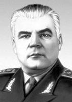 Командующий фронтом  Р. Я. Малиновский (май 1944 - июнь 1945)