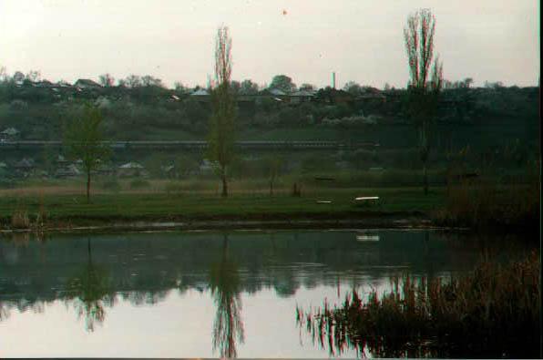 Набор фотографий города Боброва и реки Битюг.