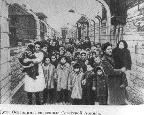 Дети освенцима спасенные советской